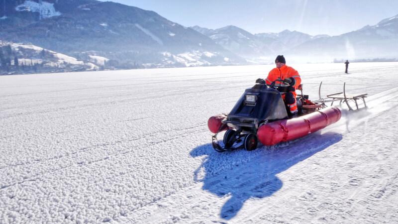 Skuter śnieżny - Zell am See