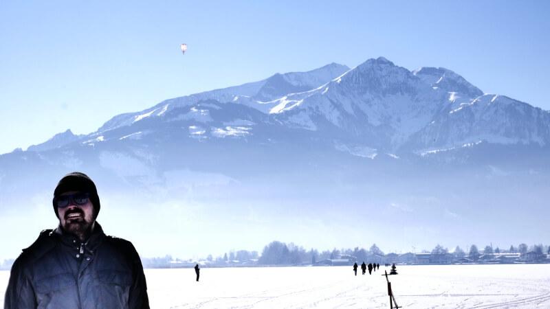 Zeller See - widok na góry