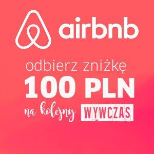 Kupon na 100 zł zniżki na AIRBNB