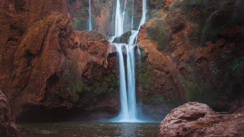 Wodospad Ouzoud w Maroko