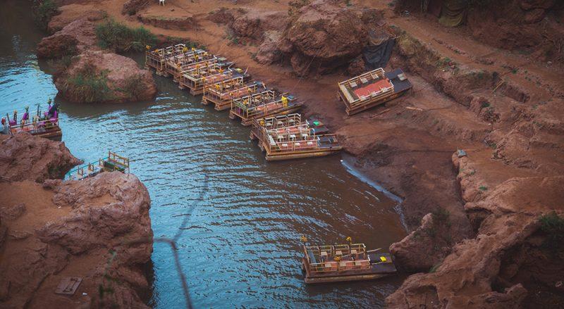 wodospad ouzoud atrakcje Maroka