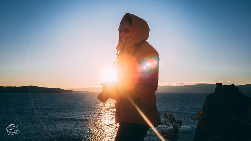zachody słońca na wyspie olchon