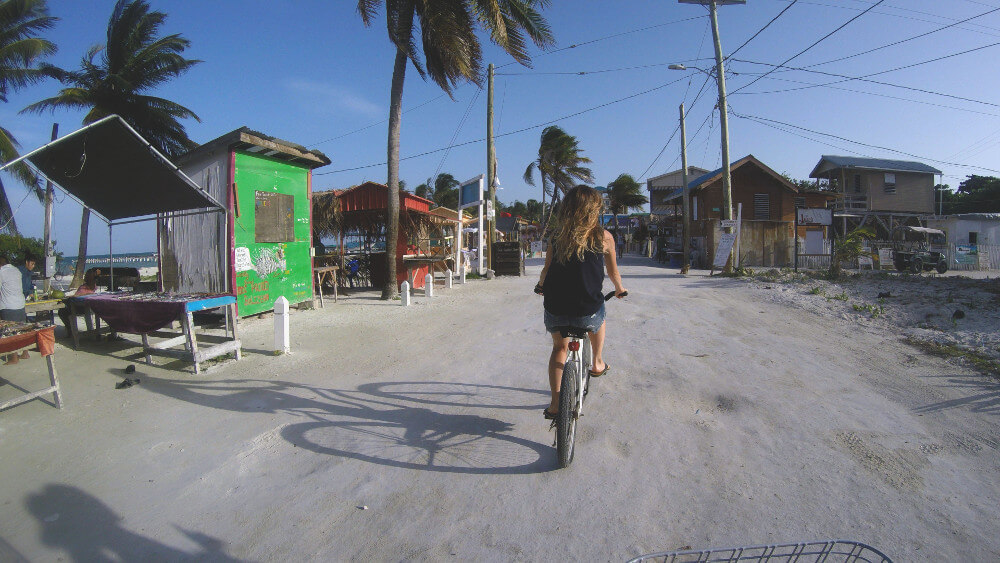 Caye-caulker-rower
