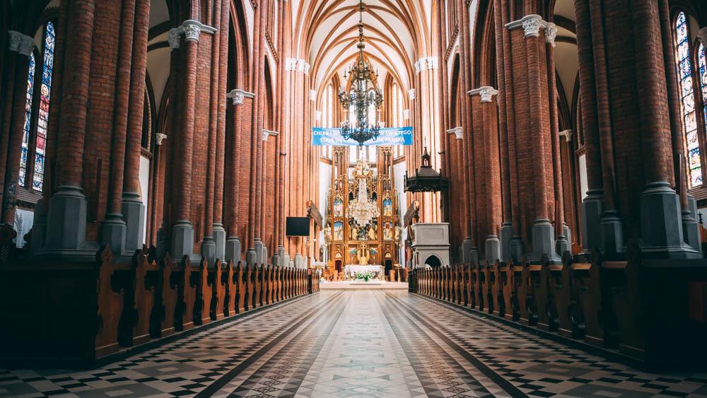 Katedra Białostocka - wnętrze