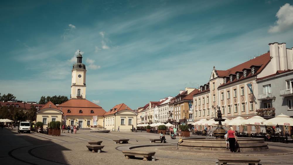 Białystok - rynek główny