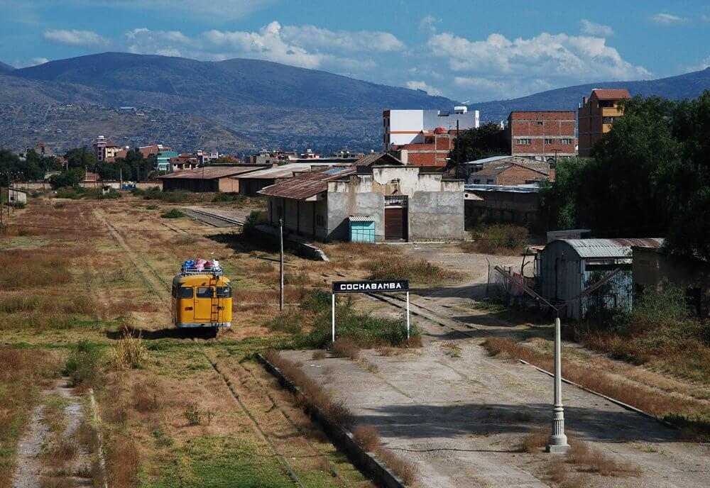 Pociag-boliwia
