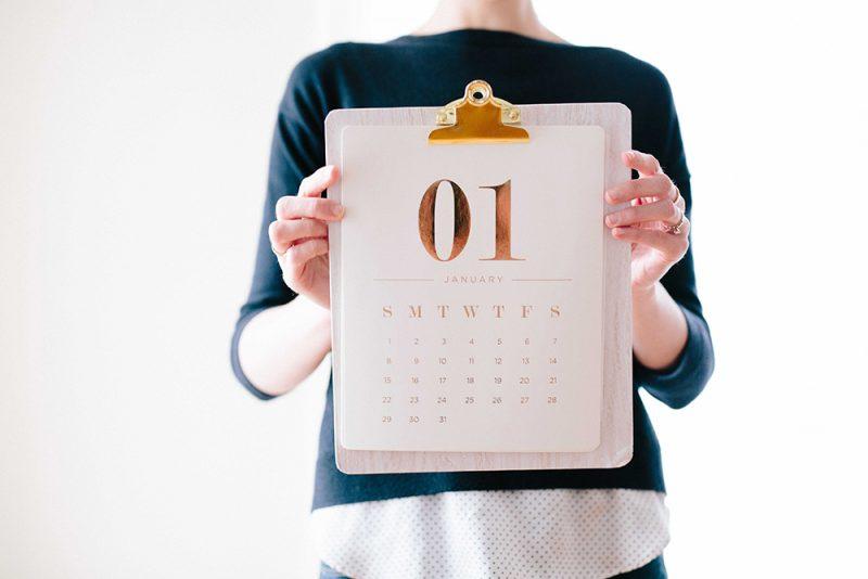 kalendarz scienny