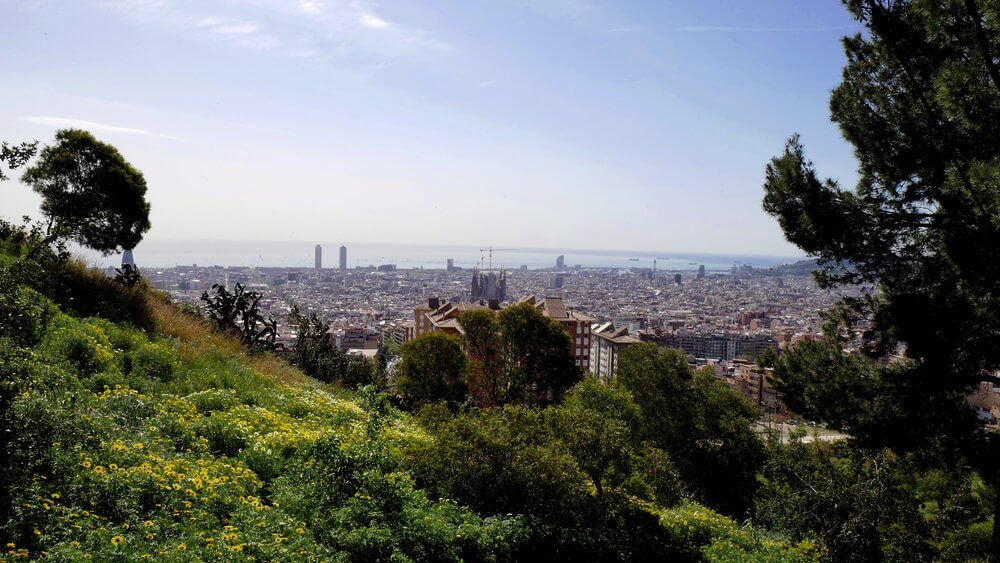 Barcelona-panorama-widoki