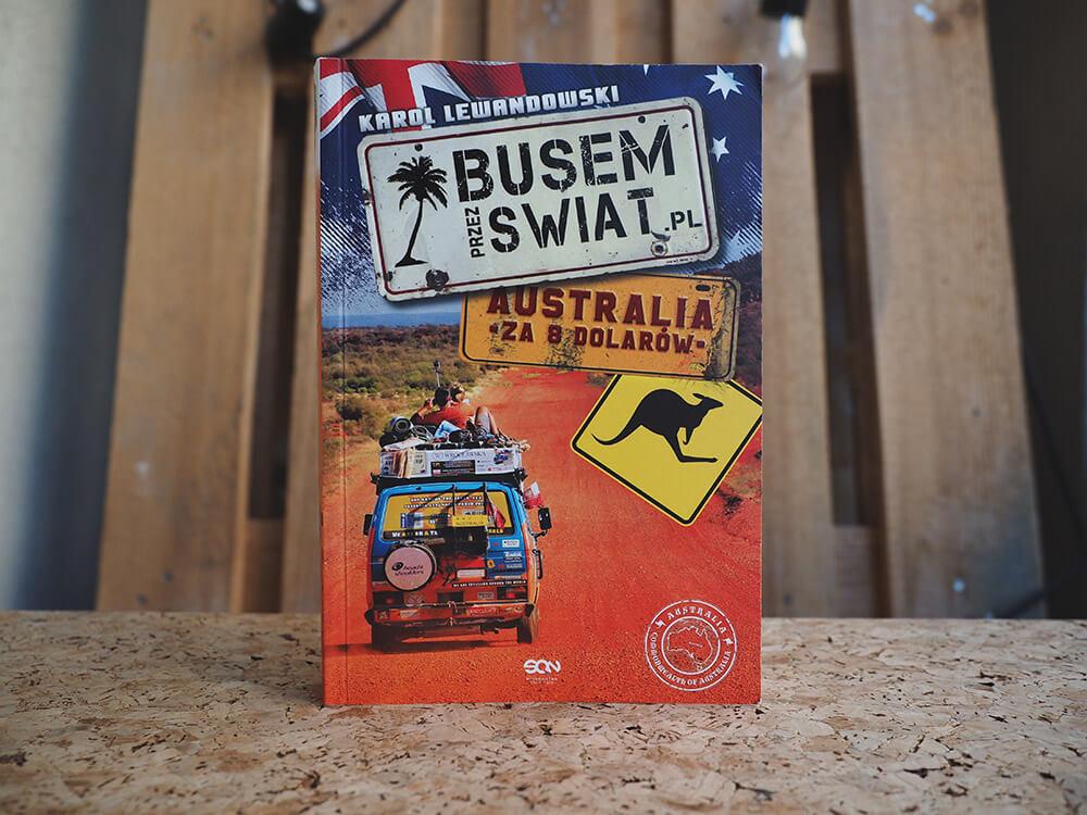 Książka Busem przez świat o Australii