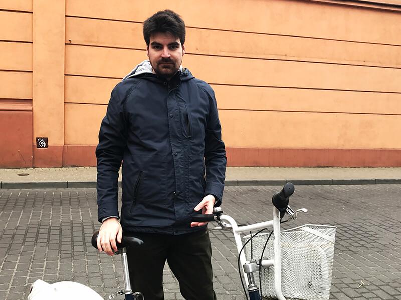 Artur zwiedza Bydgoszcz