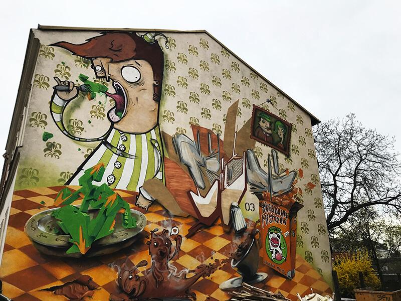 Bydgoszcz murale