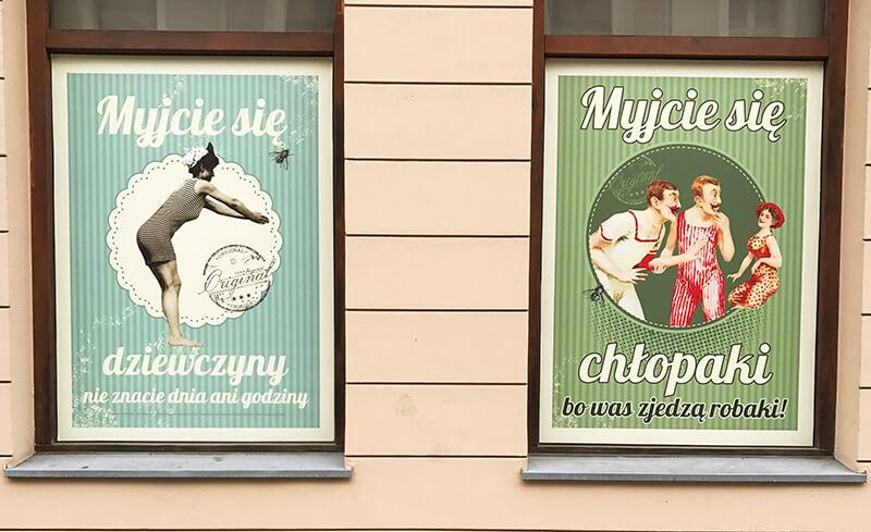 plakaty muzeum Mydła Bydgoszcz