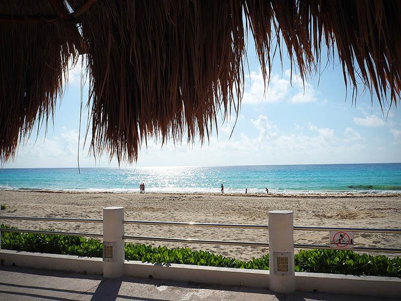 Plaże w Cancun - Zona Hotelara - Meksyk