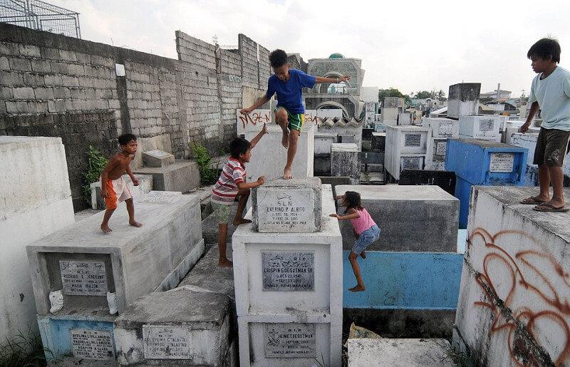 Dzieci-Cmentarz-Filipiny