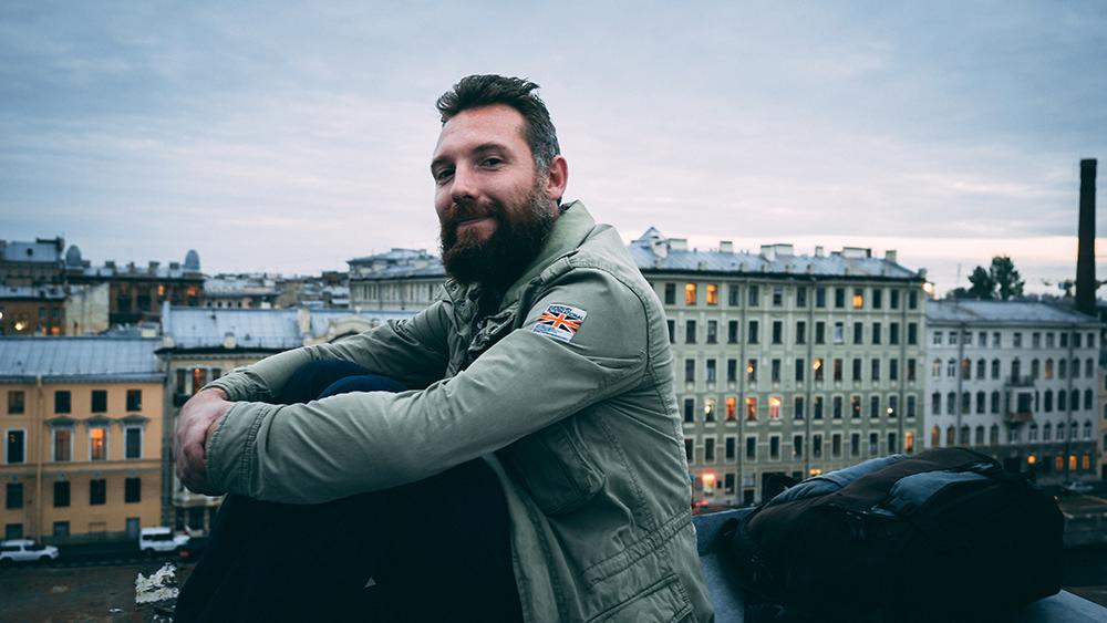Nasz roofer Dima