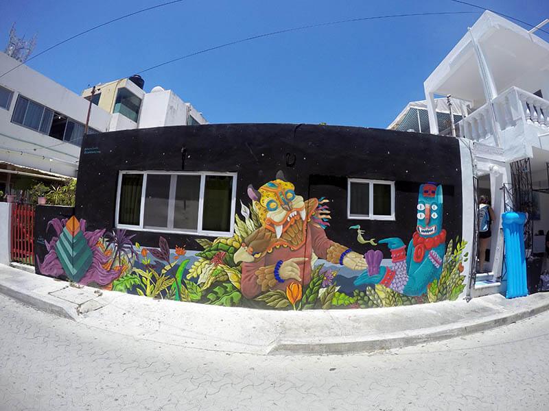 architektura Isla Mujeres