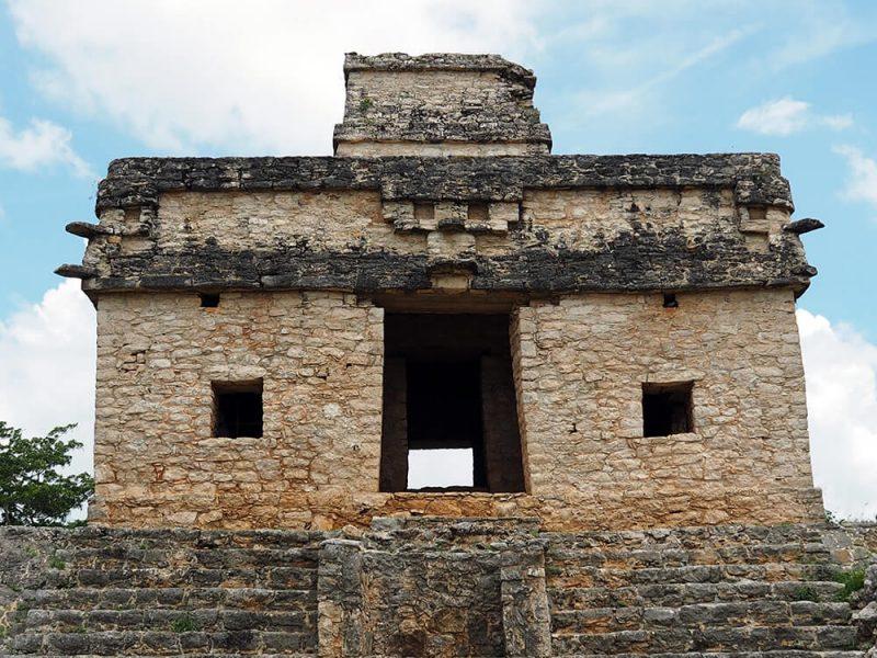 Ruiny Majów Dzibilichaltun - meksyk atrakcje - wywczas