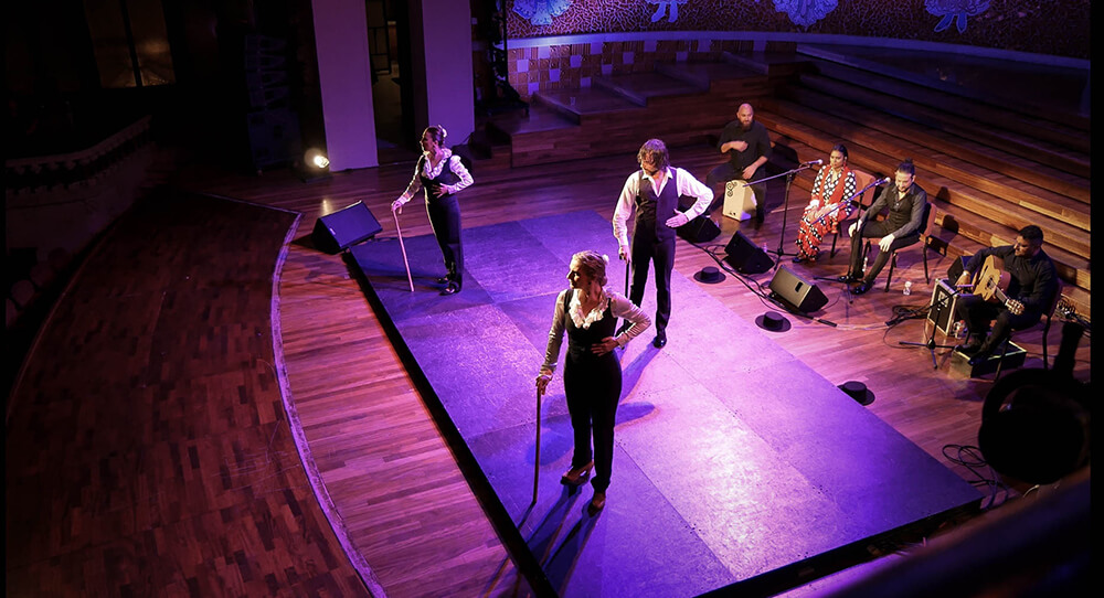 Flamenco w Barcelonie artyści na scenia