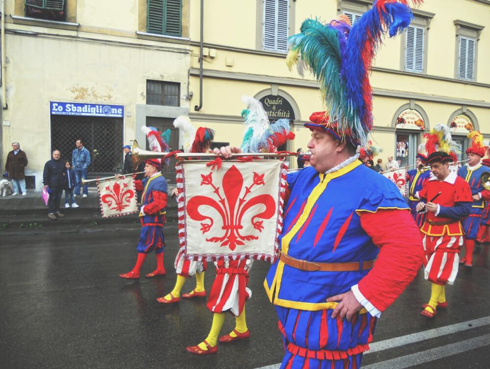Parada wielkanocna we Florencji