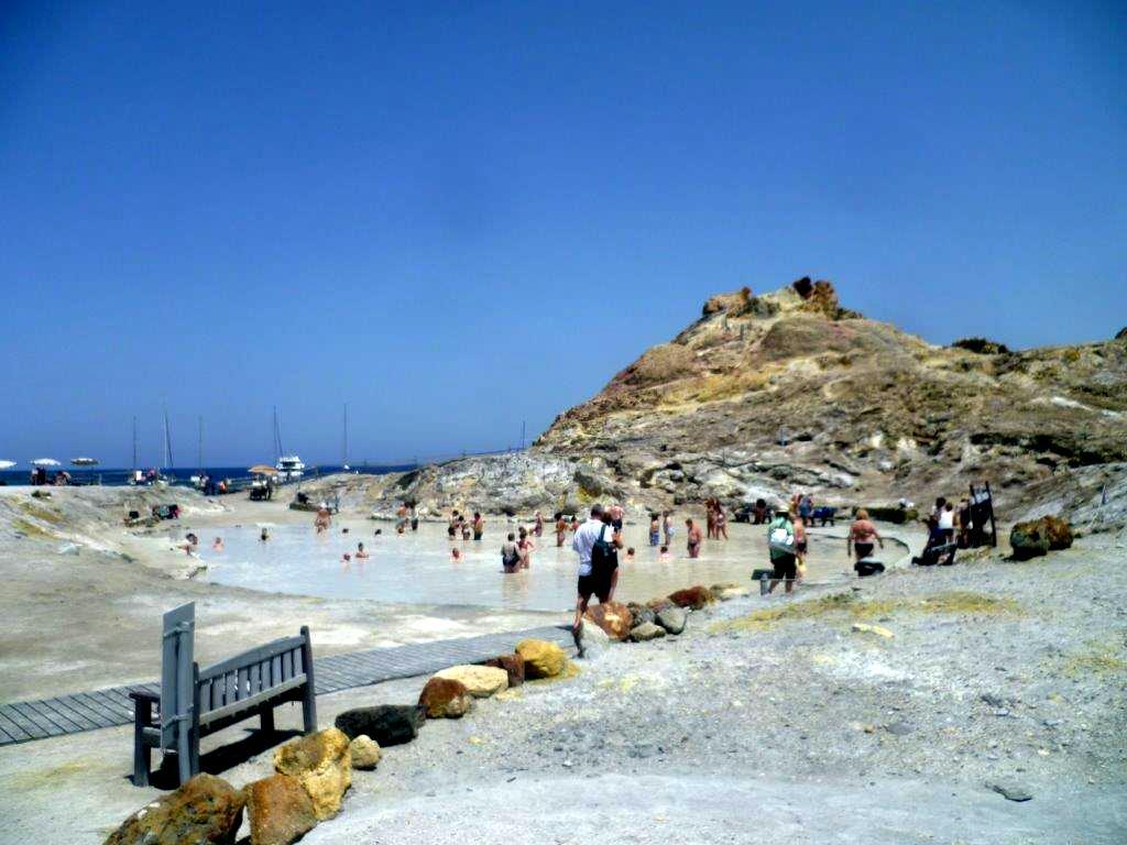 Kąpiele na wyspie Vulcano - Sycylia