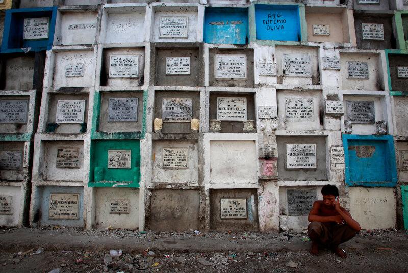 Ściana-urn-Filipiny