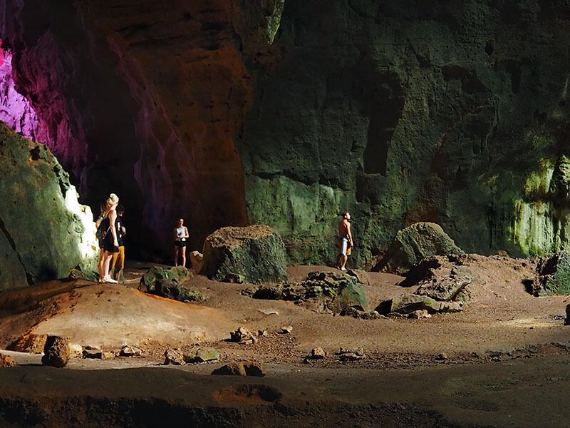 zwiedzanie grutas loltun Meksyk