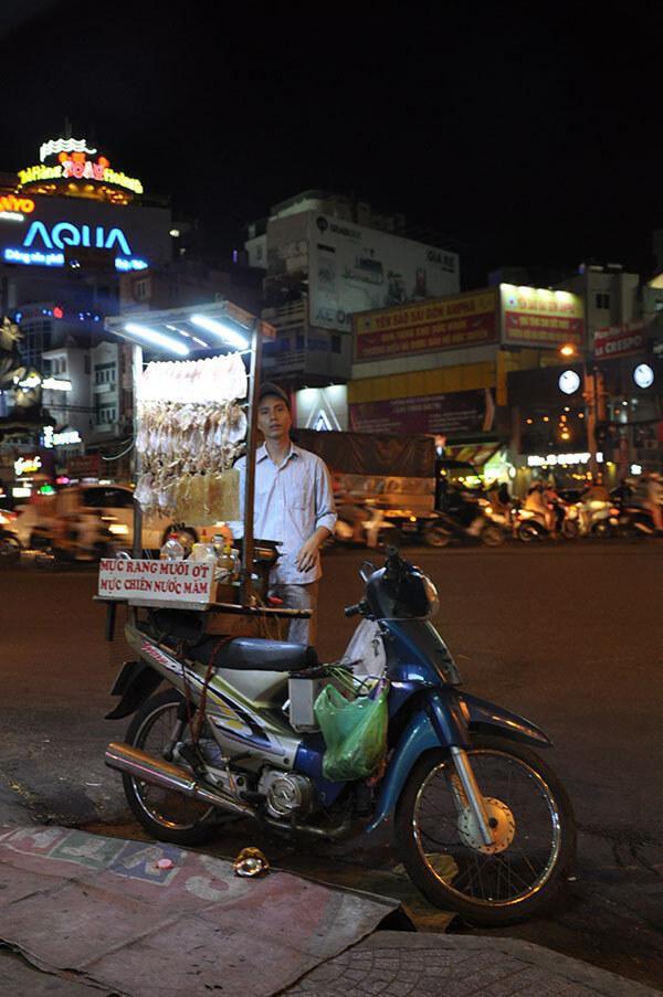 Suche kalmary - Hanoi Wietnam