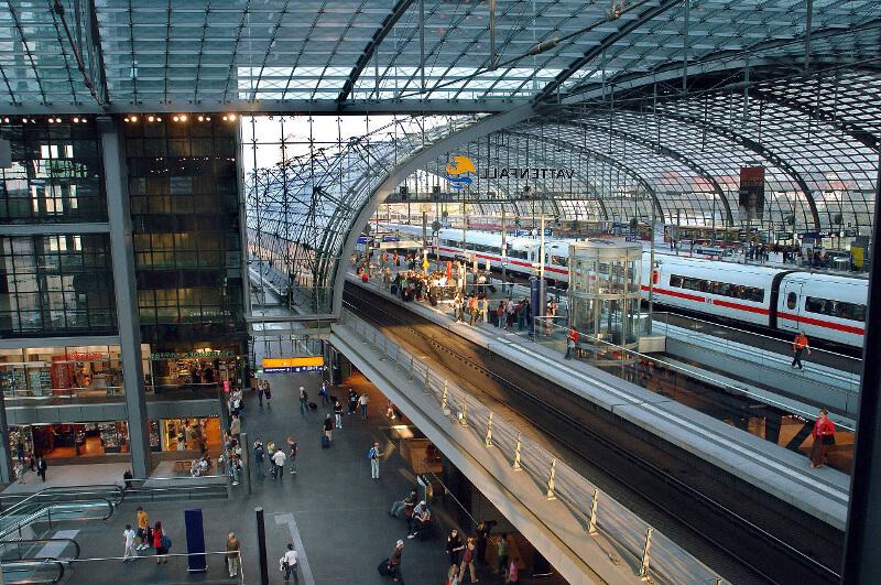 Dworzec Główny Berlin