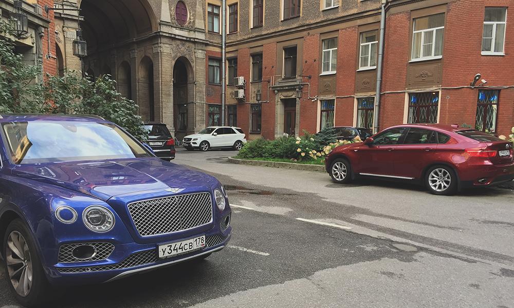 drogie auta w Moskwie