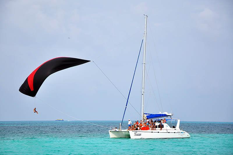 Katamaran wycieczkowy Isla Mujeres- Meksyk
