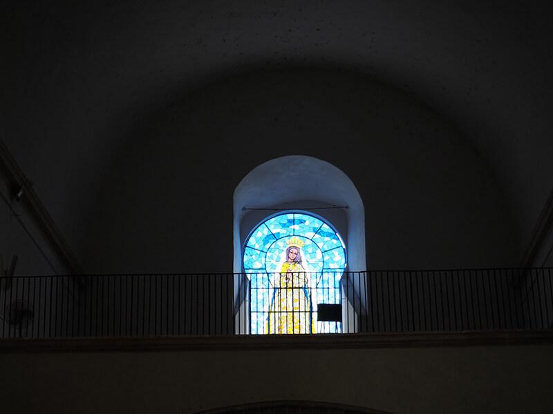 wnętrze kościoła Izamal