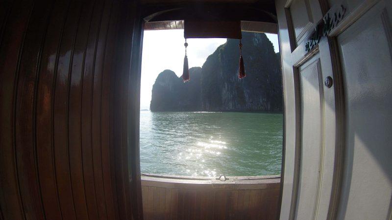 Ha Long - kajuty na statku