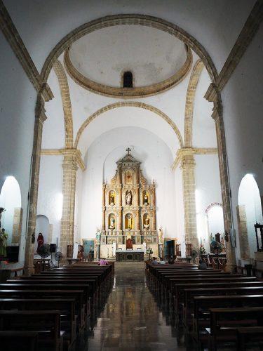ołtarz w katedrze San Servacio - valladolid