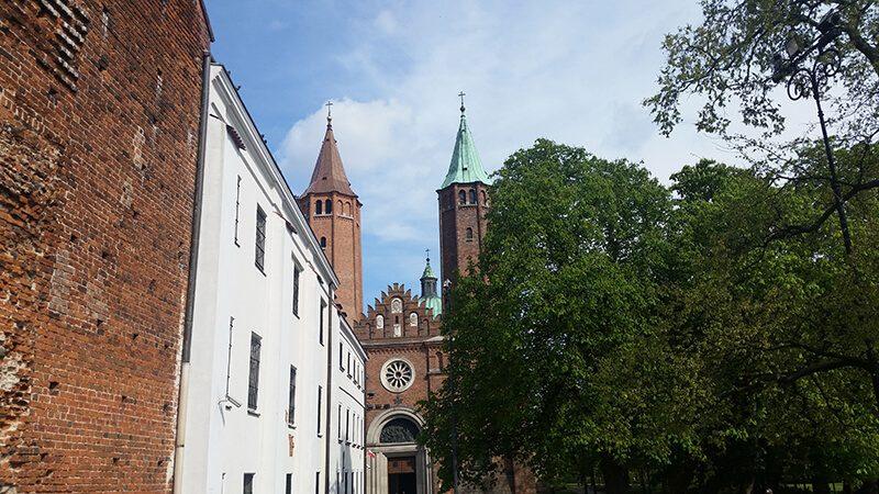 Płock - wzgórze tumskie - katedra Płocka