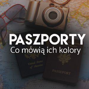 Kolory paszportów - oznaczenia