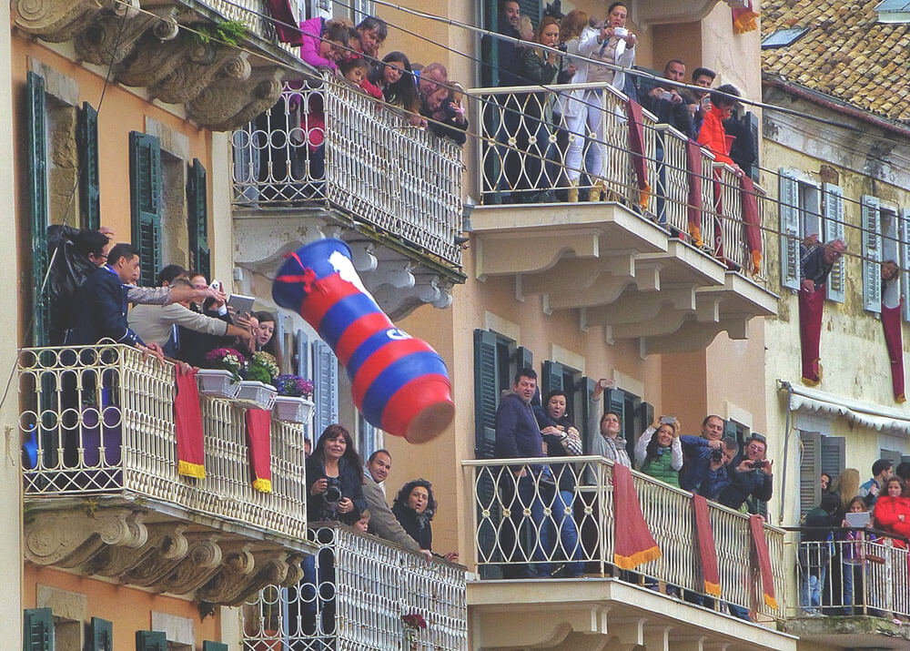 Tradycja wielkanocna na Korfu