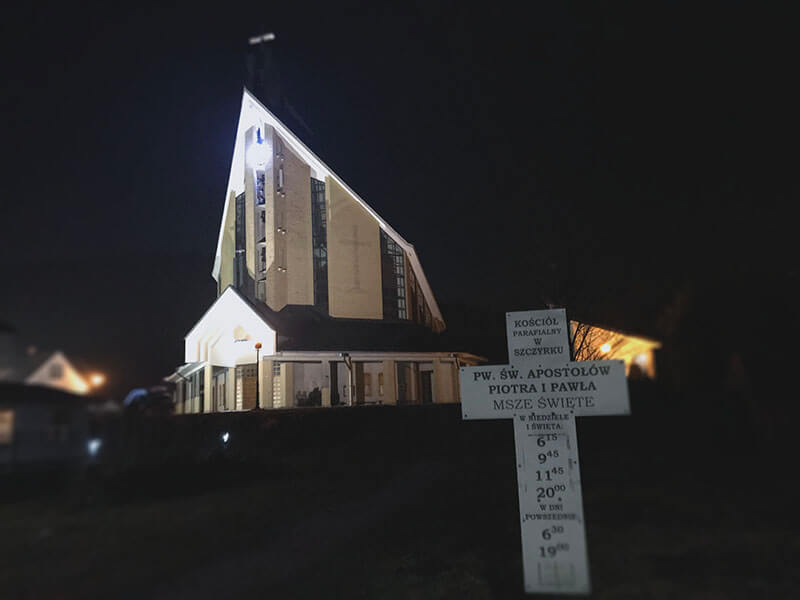 kościół w szczyrku
