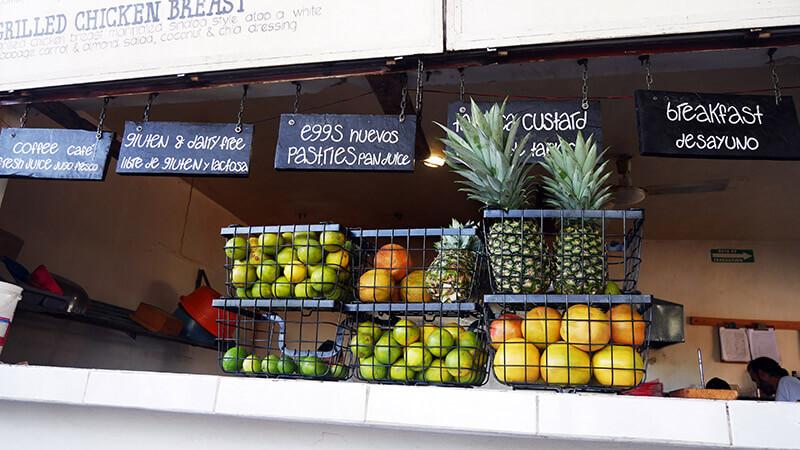 pyszne jedzenie w Meksyku - Tulum