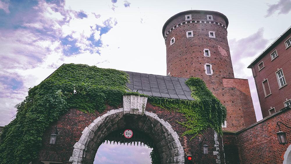 Brama wjazdowa na Wawel - kRAKÓW