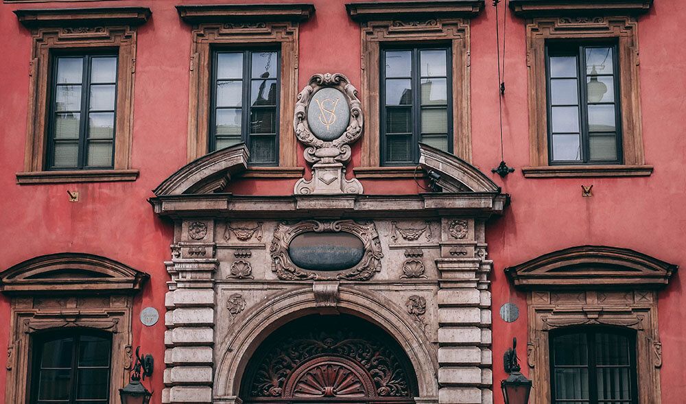 Budynki Krakowa