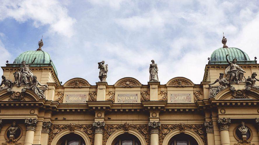 Teatr Słowackiego - elewacja