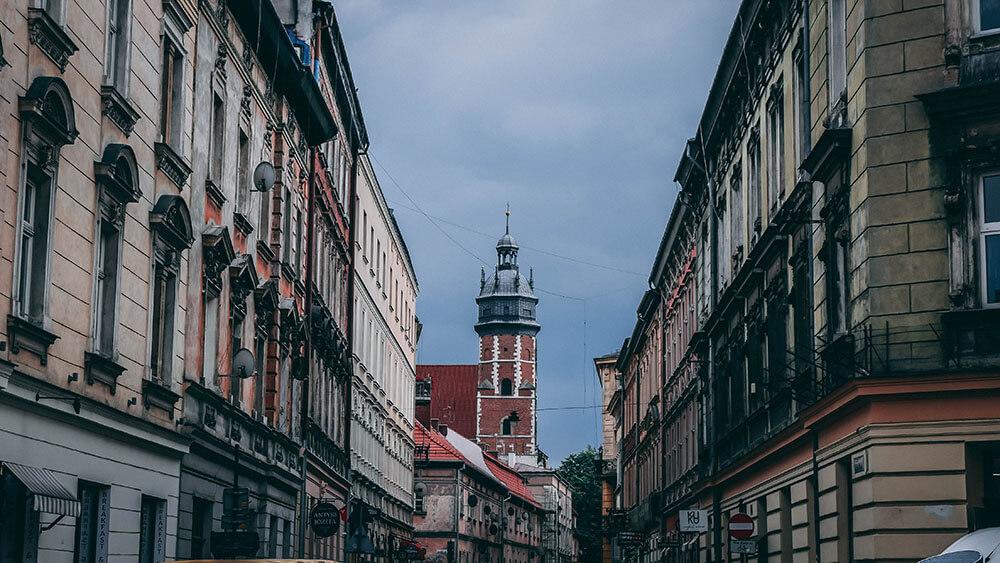 Ulice Kazimierza w Krakowie