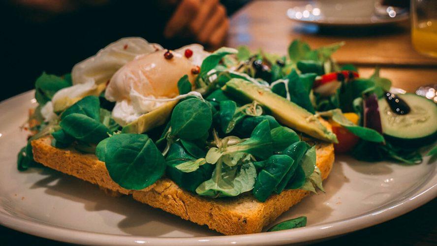 Cafe Moja - Kraków o kanapka z jajkiem