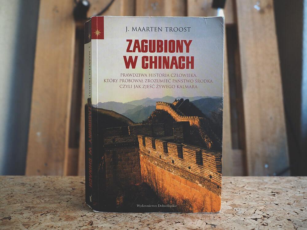 Książka o Chinach - Zagubiony w Chinach