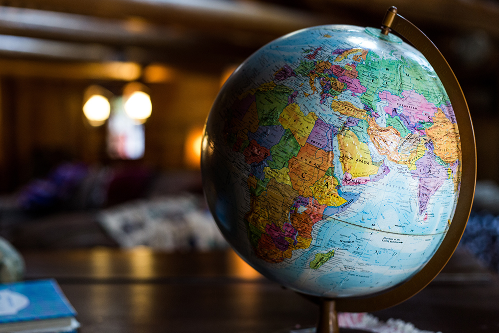 globus dla podroznika- prezenty