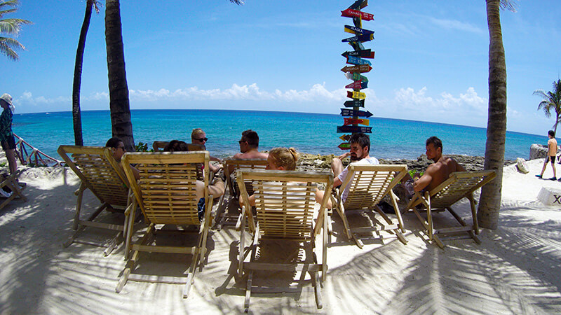 chillout w Xcaret