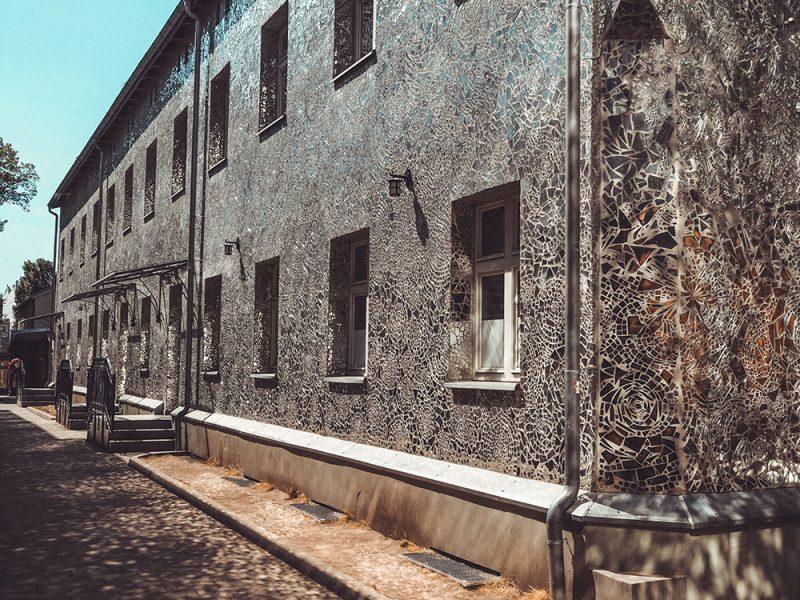 Pasaż Róży - Piotrkowska 3 domy w szkle