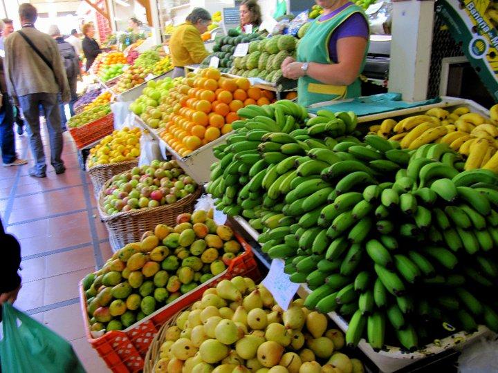 Madera - kolorowy bazar