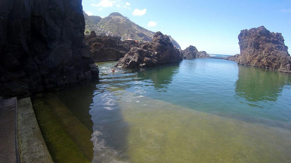 Naturalne baseny na Maderze