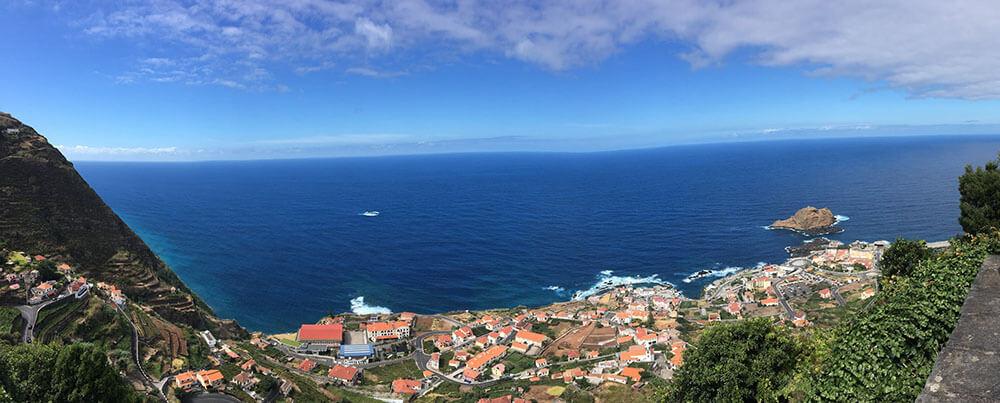 madera-porto-moniz - panorama miasta
